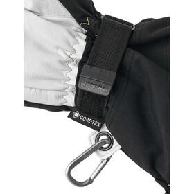Hestra Army Leather GORE-TEX Guanti, nero/bianco